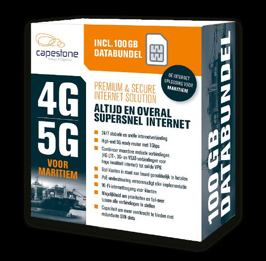 Internet op zee