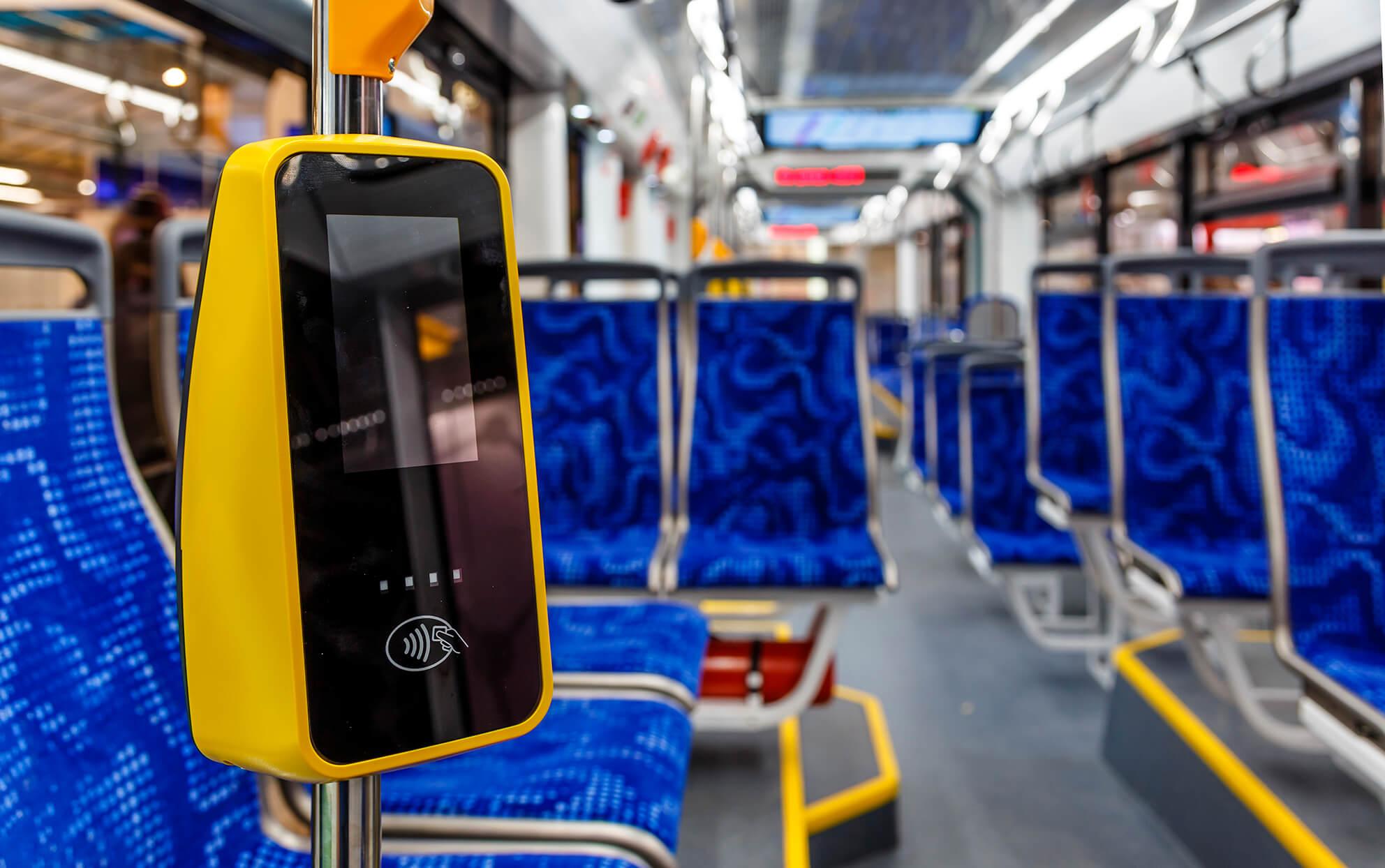 betalen in openbaar vervoer