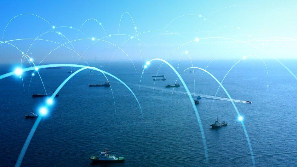 internet op schepen